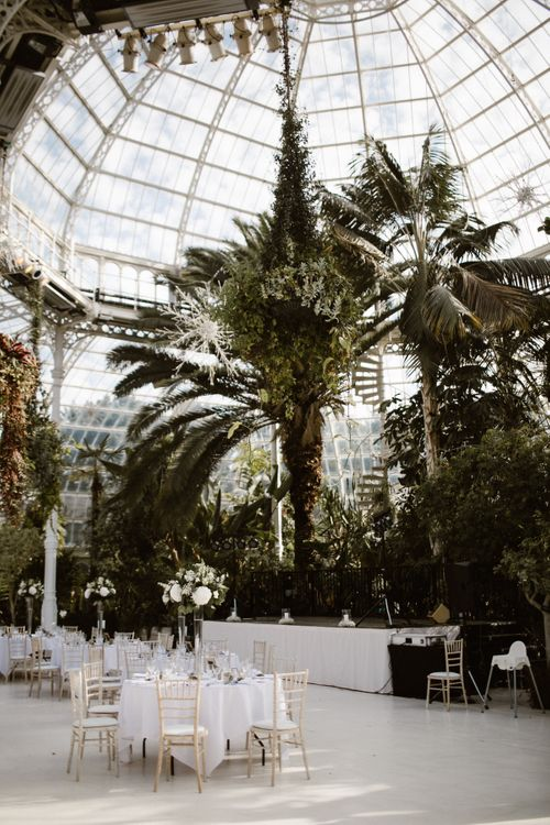 Botanical Reception at Sefton Park Palm House Liverpool