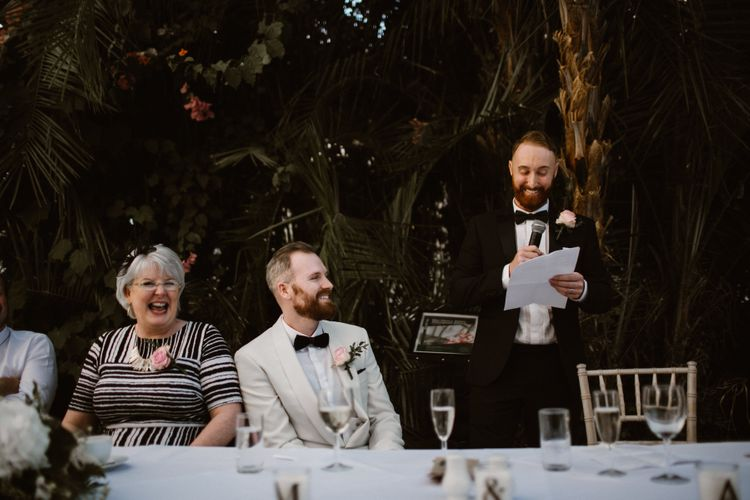 Speeches at Sefton Park Palm House in Liverpool