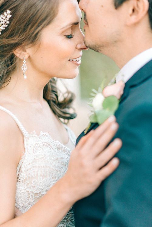Sicily Elopement Wedding With Bride In Wtoo By Watters And BHLDN Accessories With Images From Sarah Jane Ethan Photography