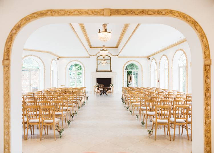 Northbrook Park, Surrey Wedding Ceremony Room