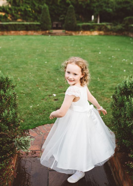 Flower Girl in John Lewis Dress