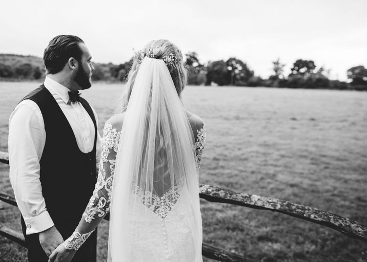 Bride & Groom Northbrook Park, Surrey Wedding Venue