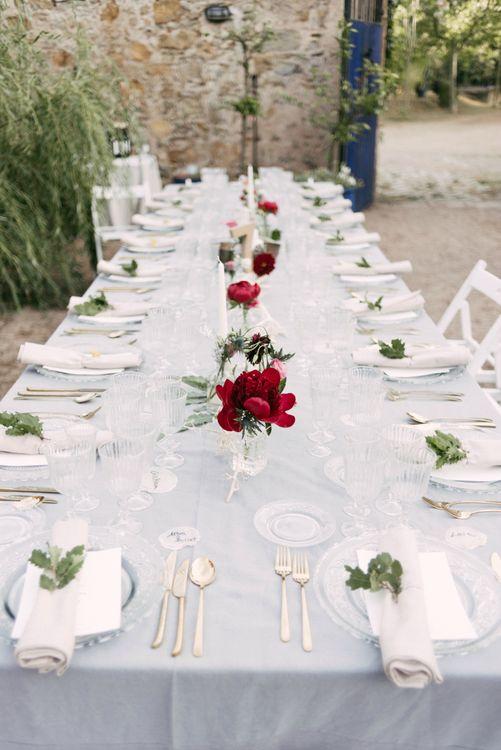 Elegant Table Scape