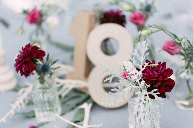 Table Number & Centrepiece