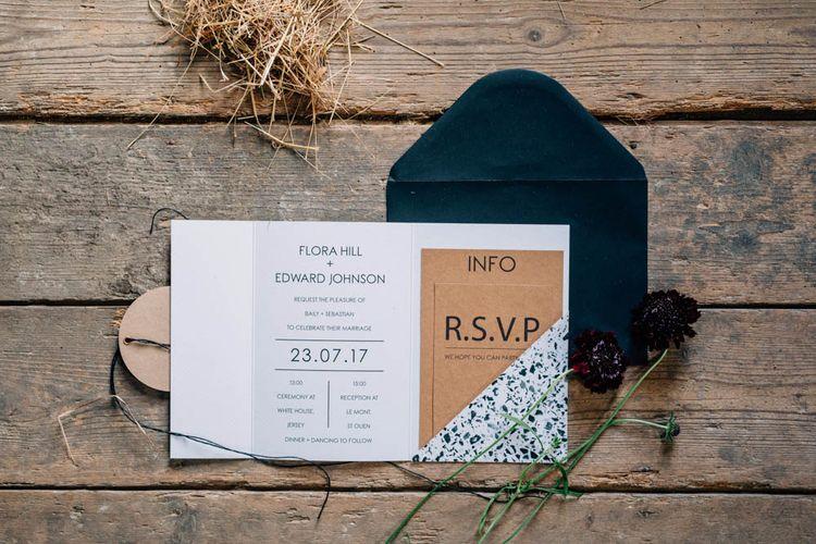 Modern Elegant Wedding Stationery Suite