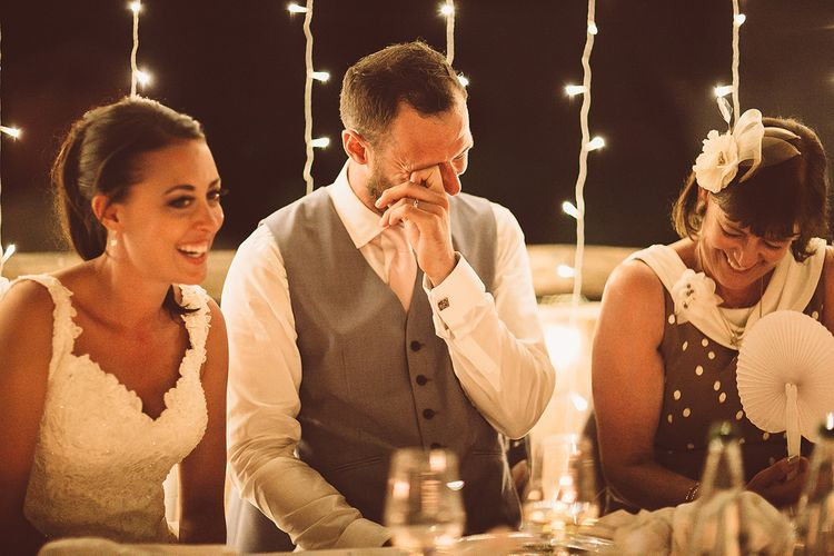 Emotional Groom Wedding Speeches