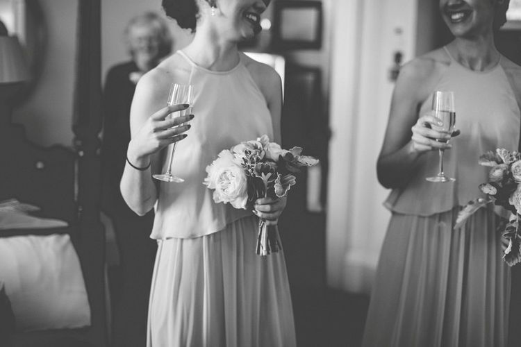 Bridesmaid in Dessy Dress | Vintage Wedding at Burgh House & The Pickle Factory London | Lovestruck Photography
