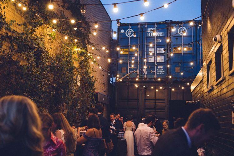 Festoon Lights | Vintage Wedding at Burgh House & The Pickle Factory London | Lovestruck Photography