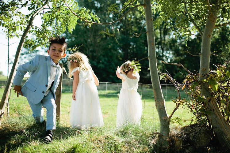 Flower Girls & Page Boys | Natalie Hewitt Planned Wedding at Normanton Church & Kingsthorpe Lodge Barn | Jeni Smith Photography | Blue Ridge Wedding Videography