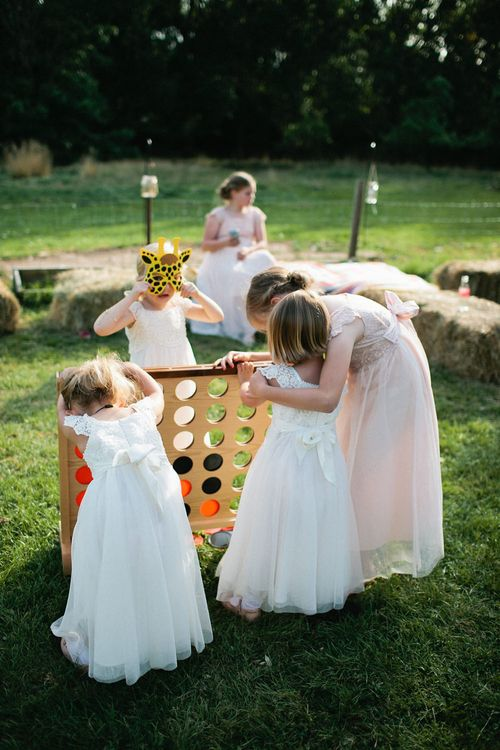 Garden Games | Natalie Hewitt Planned Wedding at Normanton Church & Kingsthorpe Lodge Barn | Jeni Smith Photography | Blue Ridge Wedding Videography