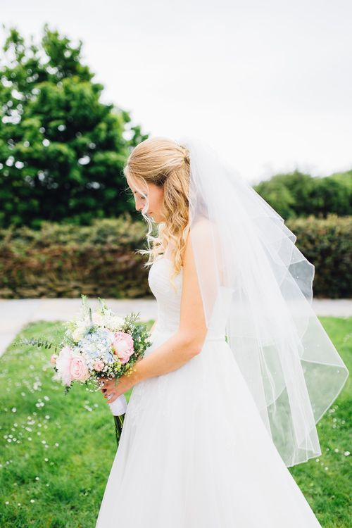 Bride in Benjamin Roberts Bridal Gown