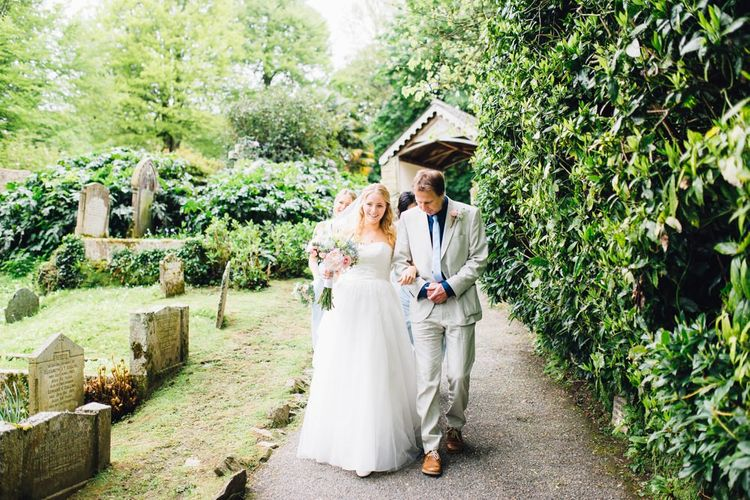 Bridal Entrance | Church Courtyard
