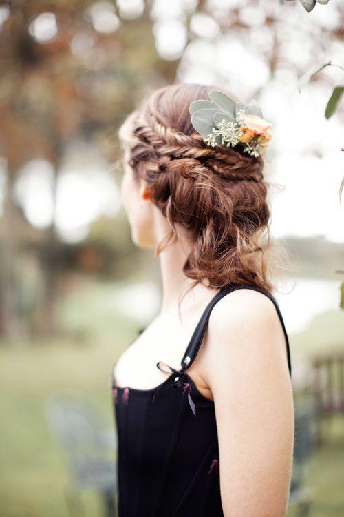 Beautiful Braided Hair For Bride