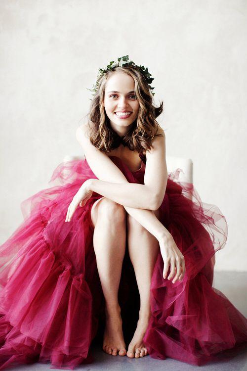 Pink Wedding Dress by Ailsa Munro