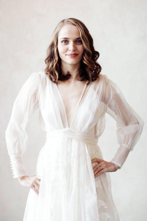 Long Sleeved Ailsa Munro Wedding Dress
