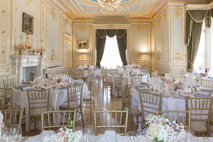 Elegant Reception Room at Fetcham Park, Surrey