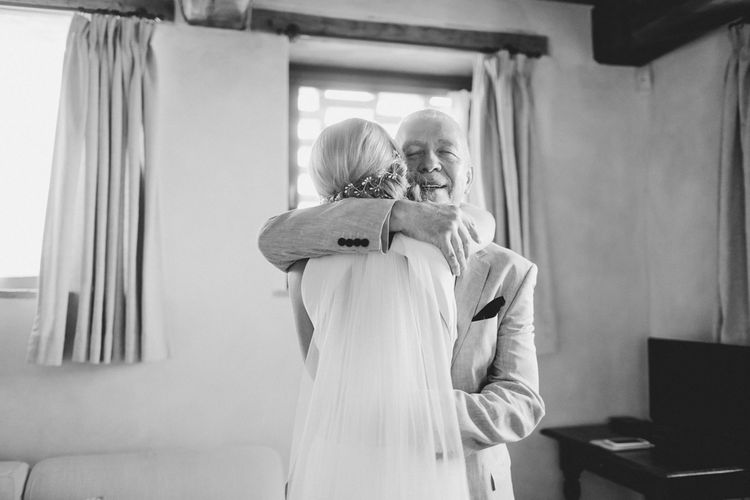 Father of The Bride & Daughter Moment | Frances Sales Photography