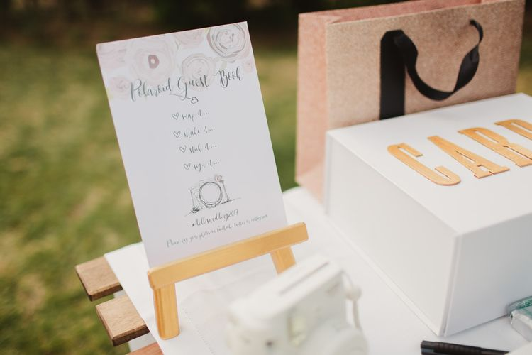 Polaroid Station | Outdoor Italian Wedding at Borgo Petrognano Planned by Tuscan Wedding Planners | Frances Sales Photography