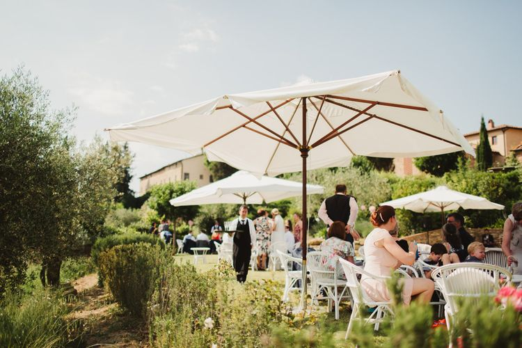 Outdoor Italian Wedding at Borgo Petrognano Planned by Tuscan Wedding Planners | Frances Sales Photography