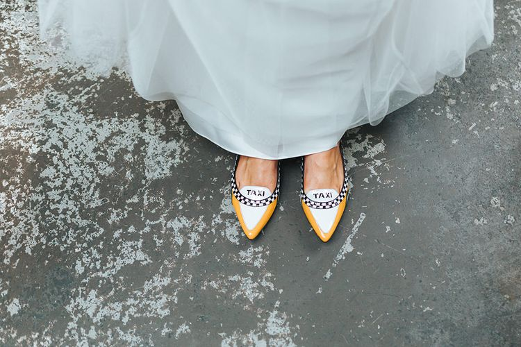 Taxi Flat Shoes
