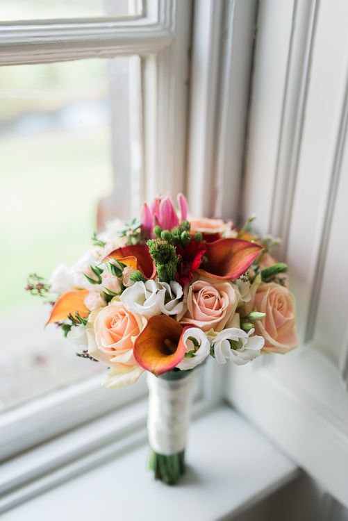 Rose & Lily Bridal Bouquet | Kathy Silke Photography