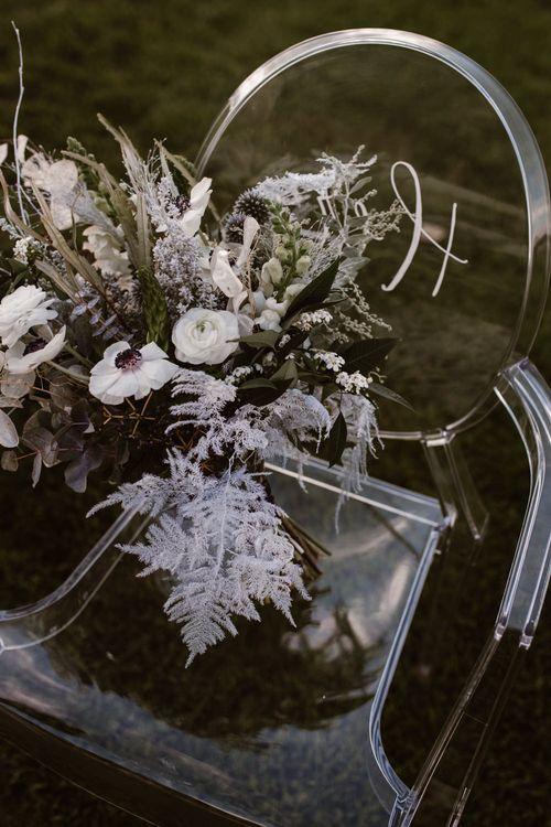 Swaffham Florist Wedding Flowers | Nocturn Wedding Inspiration Planned & Styled by The Little Lending Company | Agnes Black Photography | Film by The Wilde Bride