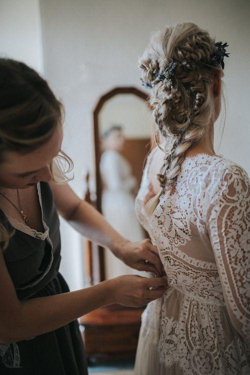 Bridal Preparations   Getting Ready