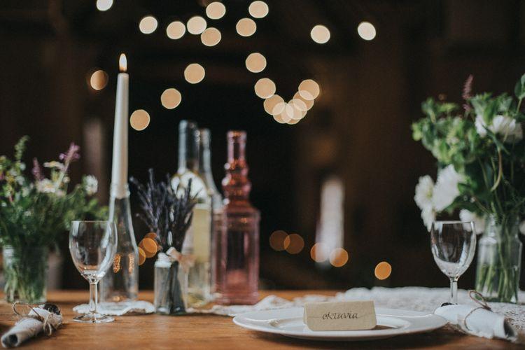 Table Setting Wedding Decor