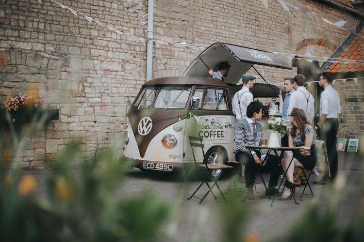Camper Van Coffee Bar