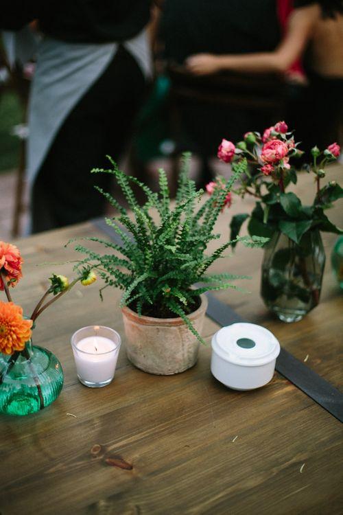 Plant Pot Centrepieces