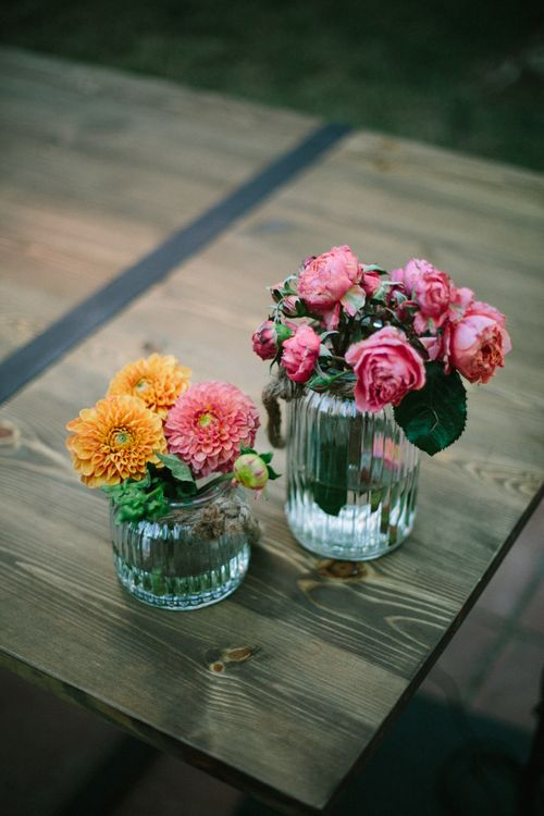 Vibrant Plant Pot Wedding Decor