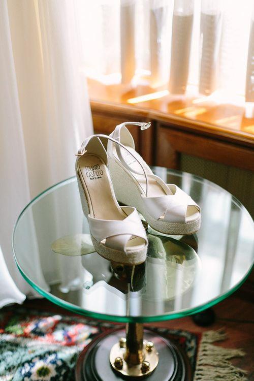 Eduardo Castillo Espadrilles Bridal Shoes
