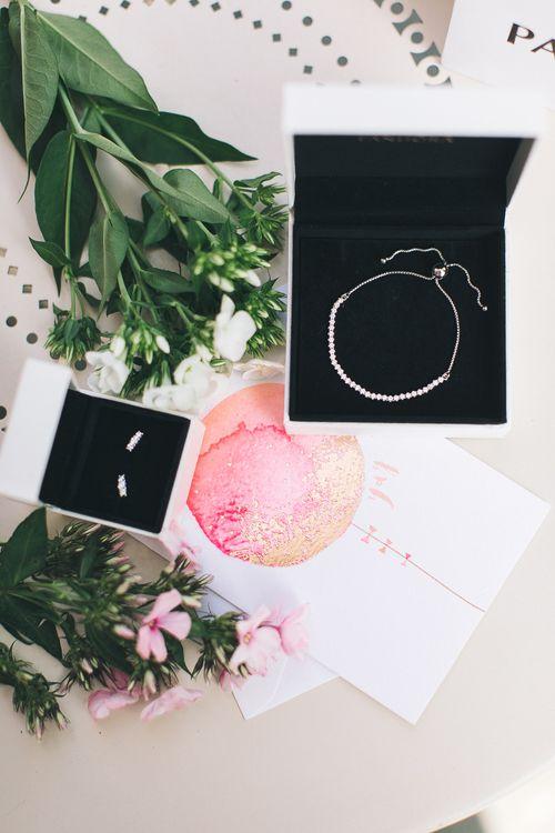 Sparkling strand bracelet