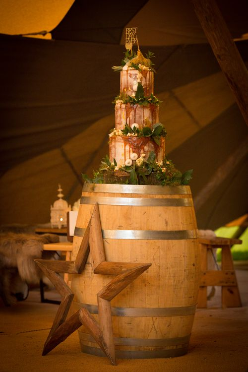 Winter Tent Weddings With PapaKata