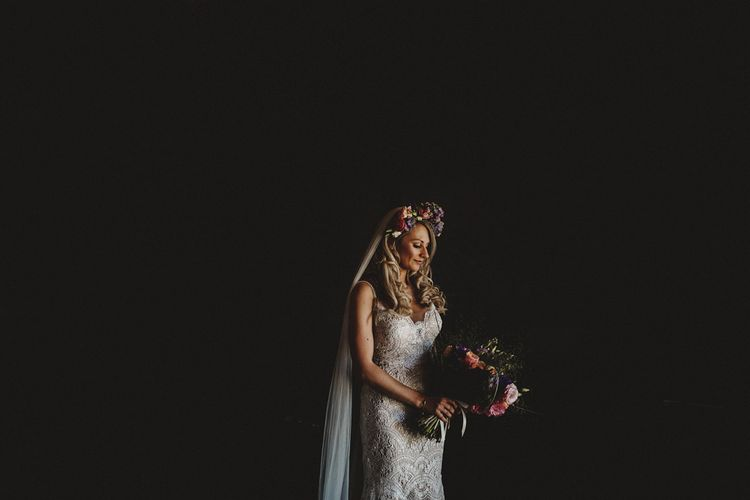 Bride In Watters For A Destination Wedding In France