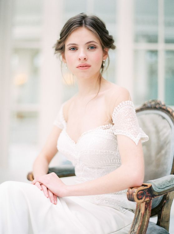 Elegant Wedding Inspiration From The Waldorf Astoria Hotel With Gowns By Mirror Mirror Bridal Couture & Images From And Your Story Photography