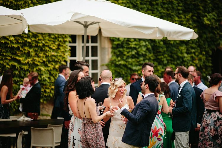 Outdoor Wedding at Chateau Rigaud in France | Real Simple Photography | Yellow Gazelle Film