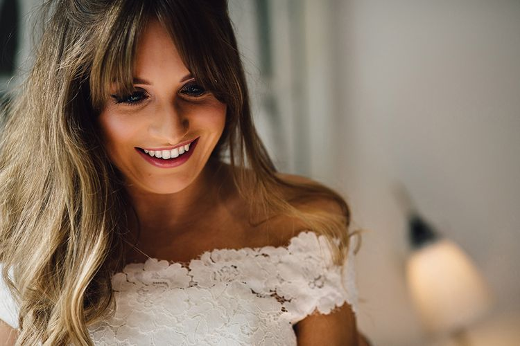Beautiful Bride With 60s Inspired Make Up