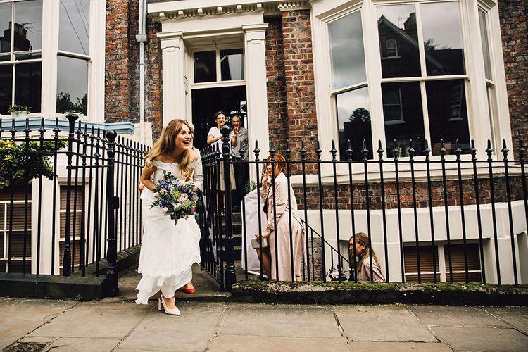 Beautiful 60s Inspired Bride