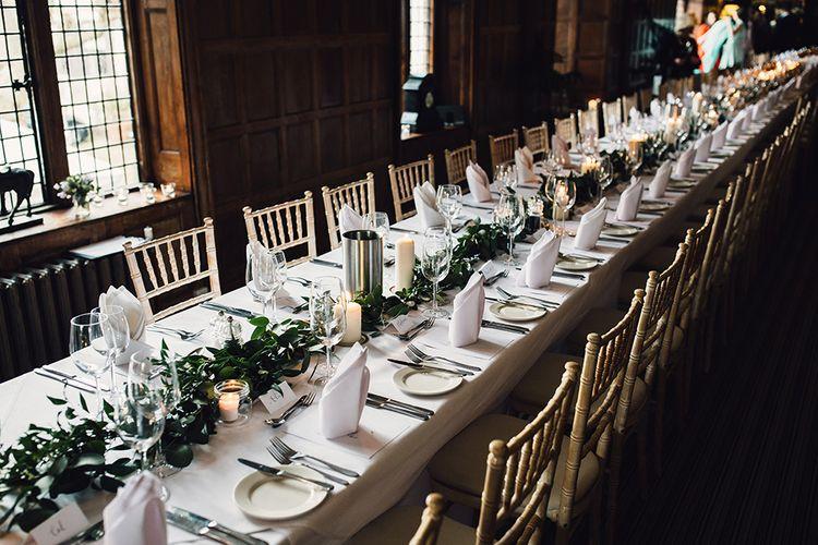 Elegant Minimal Wedding Decor