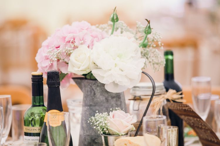 Wooden Palette Table Decor Wedding