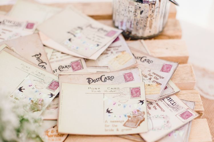 Wedding Postcards To The Bride & Groom