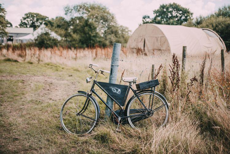 Bicycle Wedding Sign