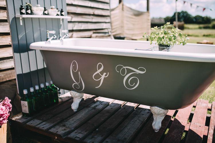 Original Gin Bath For Weddings