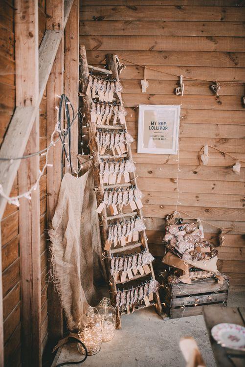 Rustic Wedding Decor For A Barn Wedding
