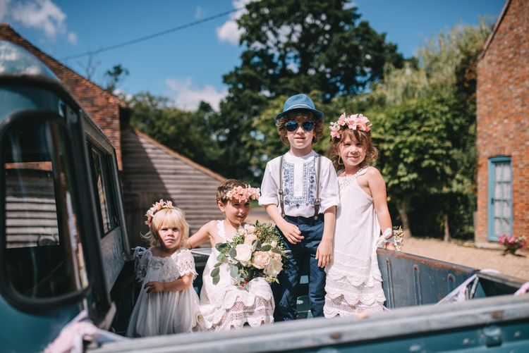 Adorable Flower Girl and Page Boy Outfits