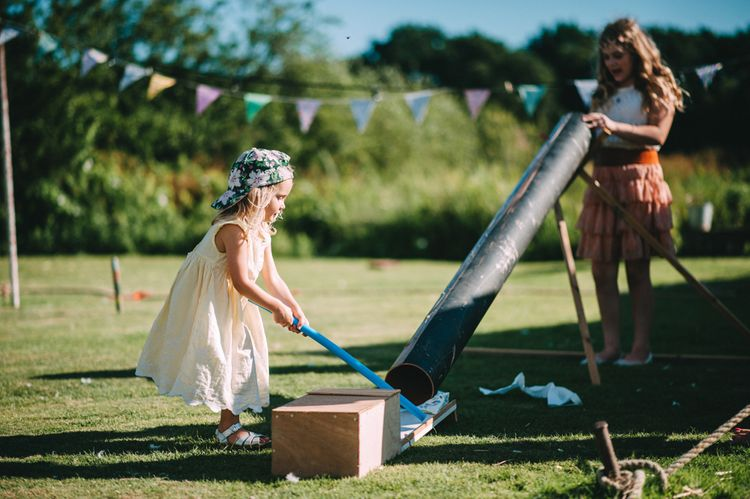 Children's Entertainment at Wedding