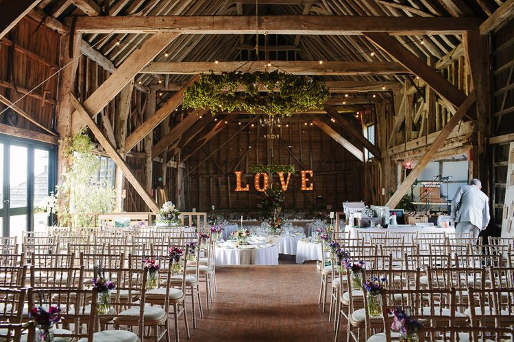 Rustic Wedding at The Great Barn Rolvenden in Kent