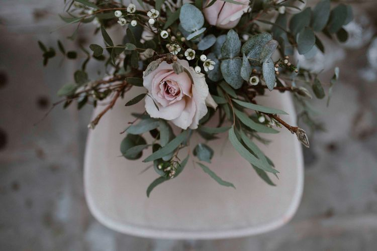 Soft Pink & Grey Wedding Inspiration Shoot