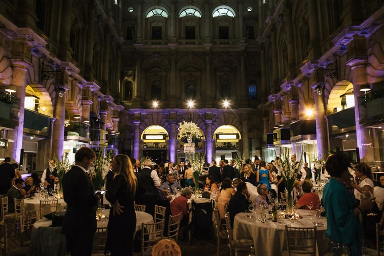 The Royal Exchange London Wedding Reception